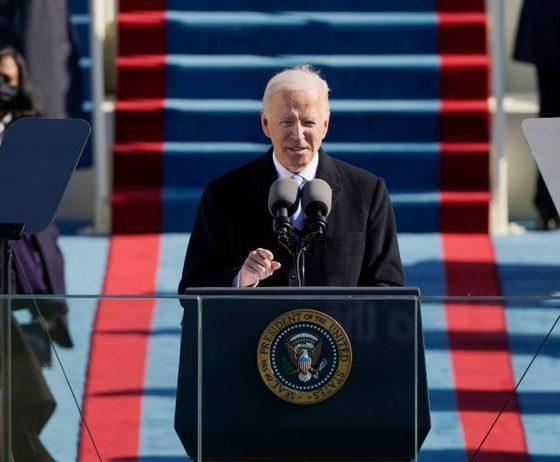 © DR   Le Président Joe BIden le jour de son investiture
