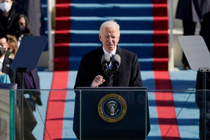 © DR | Le Président Joe BIden le jour de son investiture