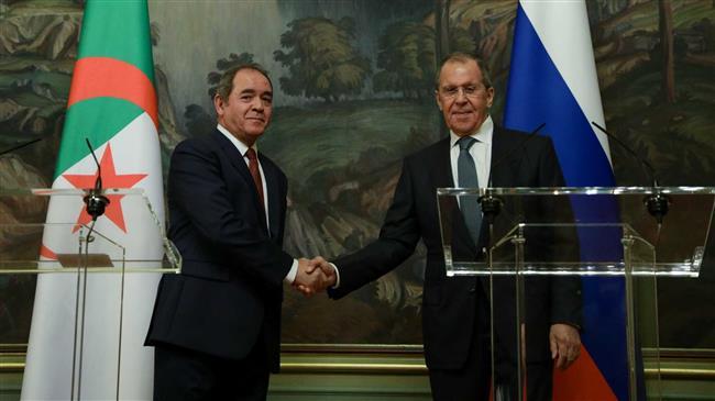 © DR |Le ministre des Affaires Etrangères, Sabri Boukadoum avec son homologue russe Sergueï Lavrov
