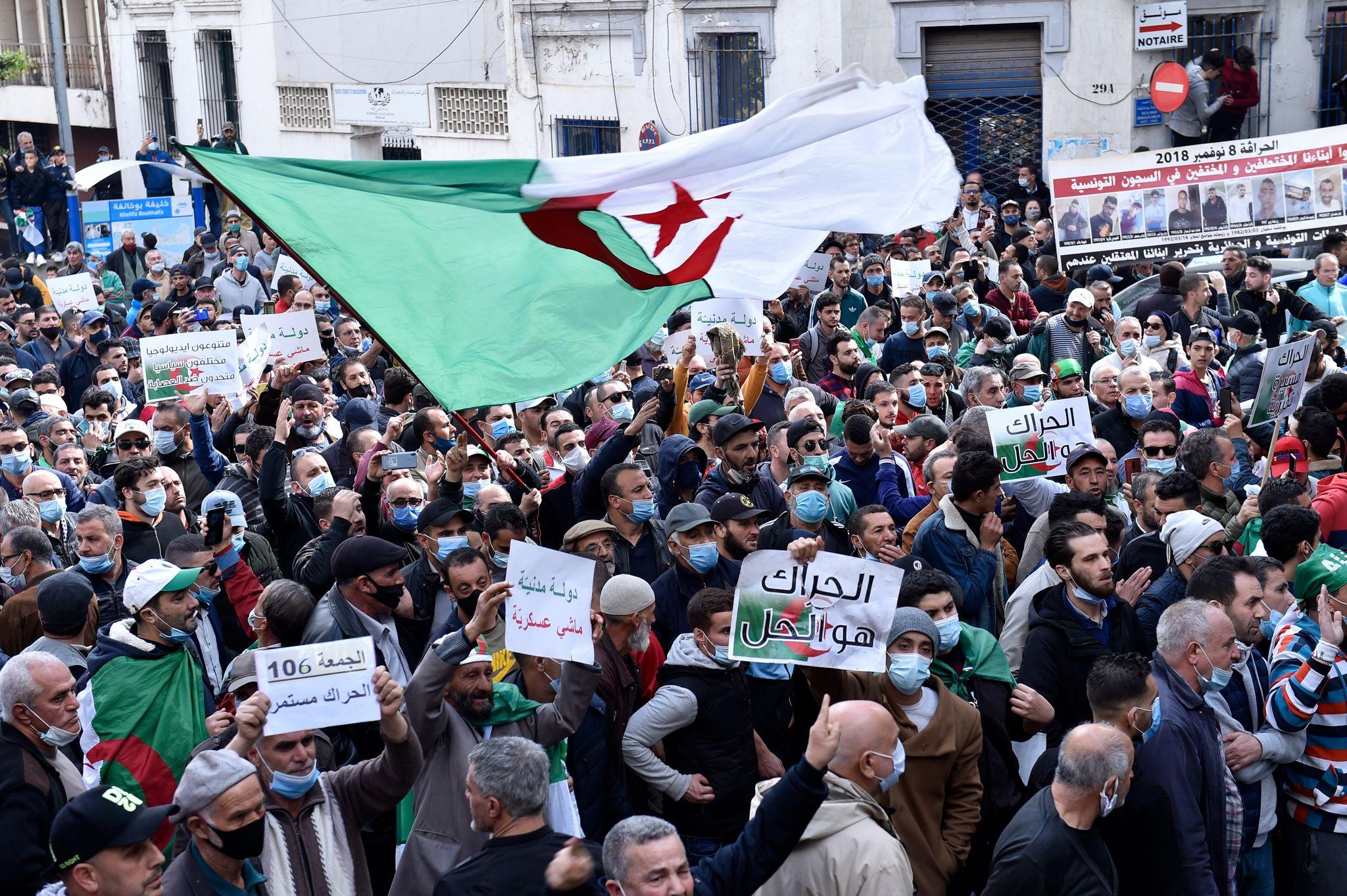 © Samir Sid   106e vendredi du hirak à Alger