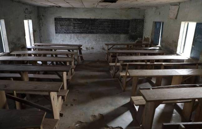 © DR | Classe déserté au Nigeria suite aux kidnapping des enfants