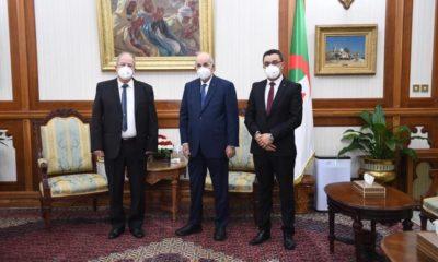 © DR | Abdelmadjid Tebboune reçoit des partis politiques