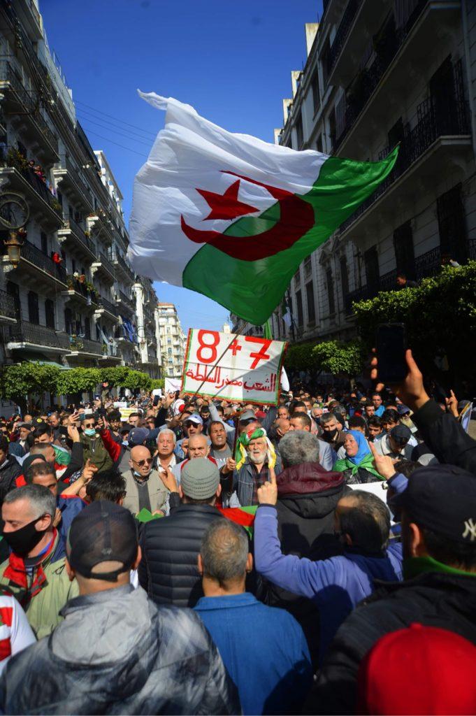 © Sami K. | Manifestation du Hirak le 05 mars à Alger