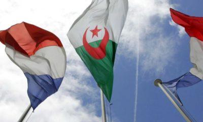 © DR | Drapeaux algérien et français