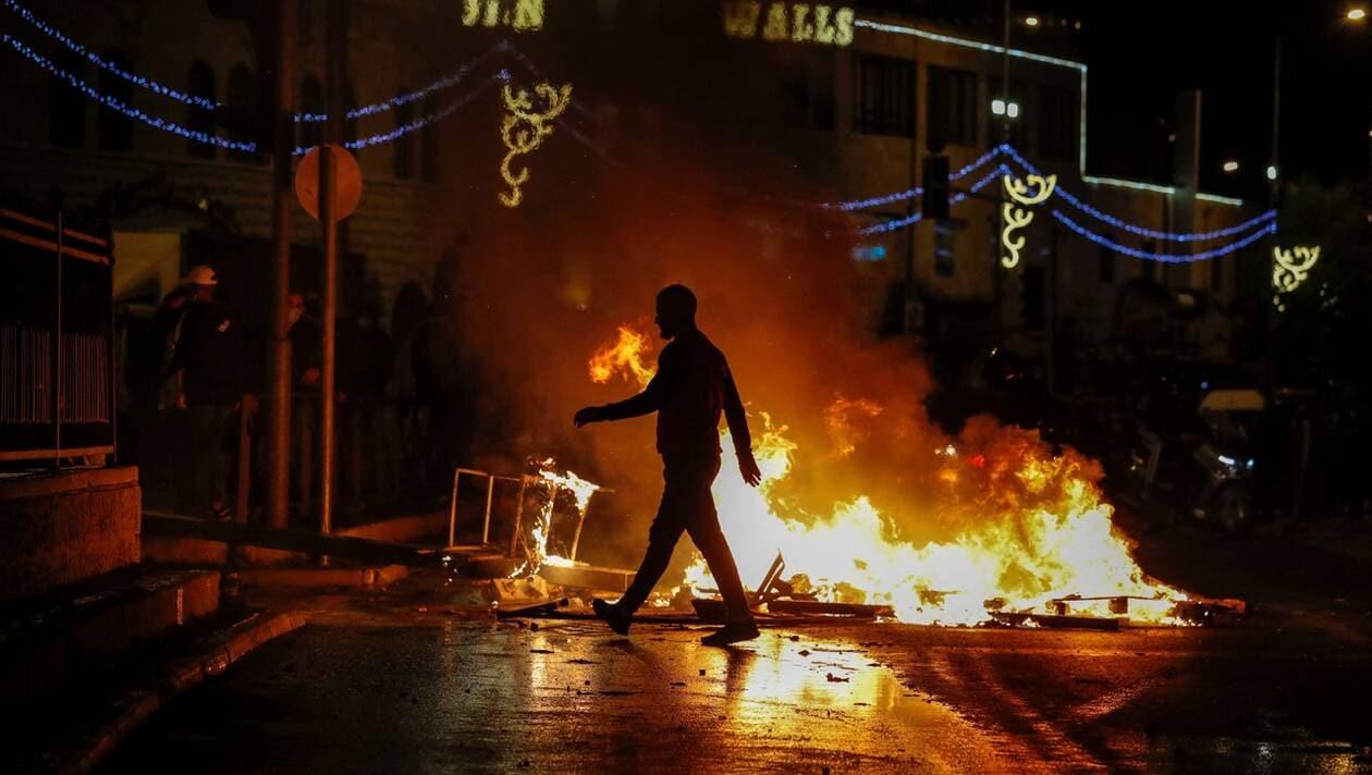 © DR | Des heurts à Jérusalem, le 22 avril 2021