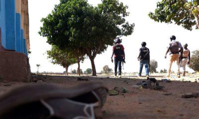 © DR | La police en patrouille autour du pensionnat de Kankara (Nigeria), le 15 décembre, après l'enlèvement de centaines d'élèves.