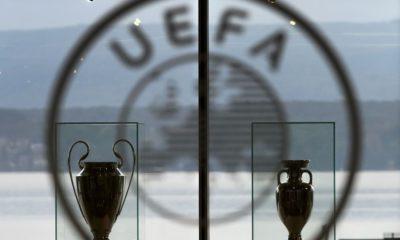 © DR | L'entrée du siège de l'UEFA, à Nyon en Suisse.