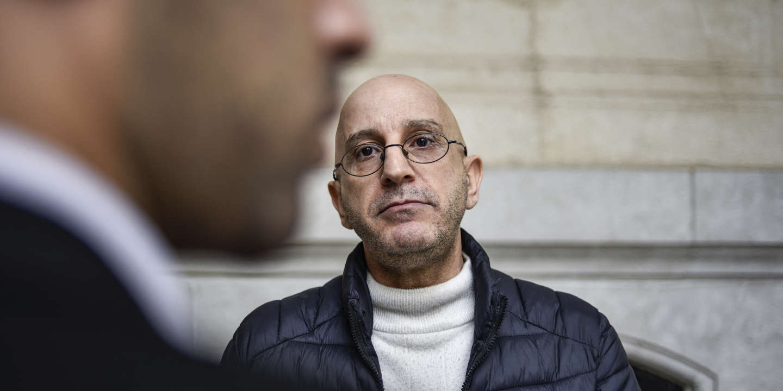 © DR | Le chercheur Saïd Djabelkhir au tribunal de Sidi M'hamed, à Alger, le 22 avril 2021