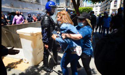 © Sami. K. | Arrestation de la journaliste Kenza Khato à Alger