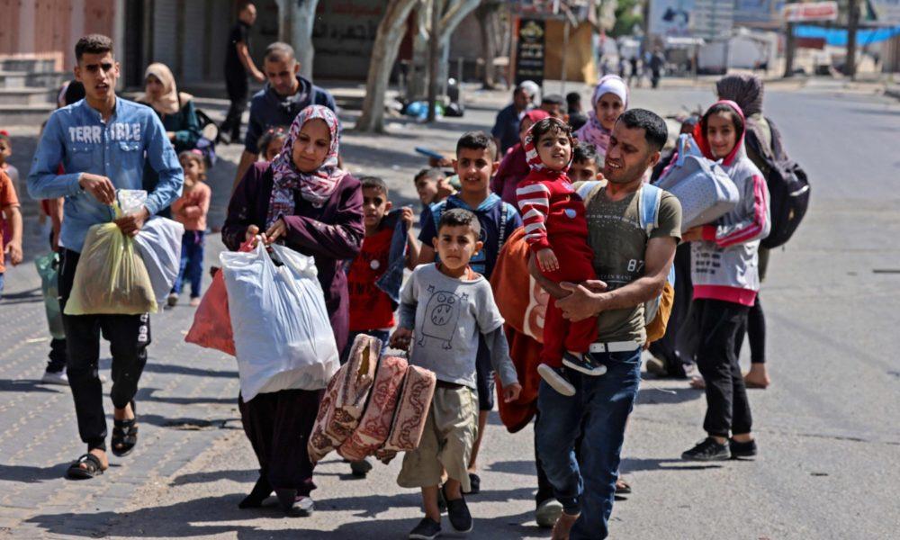 Plus de 52 000 Palestiniens déplacés à Gaza, selon l'ONU | INTERLIGNES  Algérie