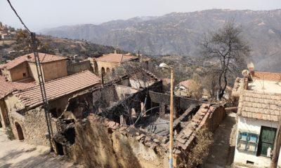 © INTERLIGNES| une maison ravagée par les feux de forêts à Tizi-Ouzou, 16 août 2021