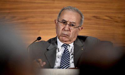 © AFP | Le Ministre des Affaires Étrangères et de la Communauté Nationale à l'Étranger, Ramtane Lamamra