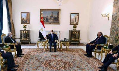 © Ministère des Affaires Étrangères | Ramtane Lamamra reçu par le président égyptien Abdelfattah Sissi