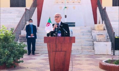 ©Le ministre de l'Enseignement et de la Formation professionnels, Yacine Merabi